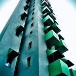Die Umgestaltungspläne des Eigentümers brachten die Debatte zum Schutz der IBA ´87-Bauten ins Rollen (Foto: Jan Kickinger)