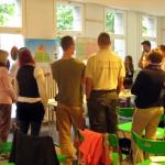 Ideensammlung bei der Auftaktveranstaltung am Nettelbeckplatz