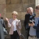 Austausch der Teilnehmer während der Exkursion (Bild: Ulf Dahl)