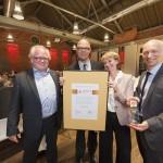 Preisverleihung des urbanicom-Preises 2014 an Herrn Hartwig Schultheiß, Stadtdirektor der Stadt Münster (Bild: Ulf Dahl)